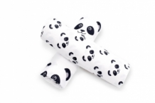 Panda Dreams Inbakerdoek / Swaddle per 2 verpakt